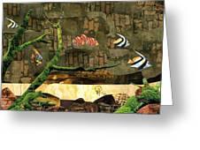 Fish Of The Brick Greeting Card