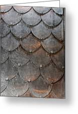 Fish Scales Greeting Card