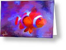 Fish Two Greeting Card