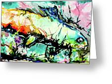 Fish Under Water Greeting Card