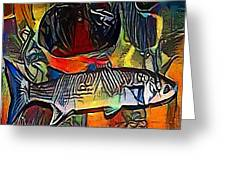 fish - My WWW vikinek-art.com Greeting Card