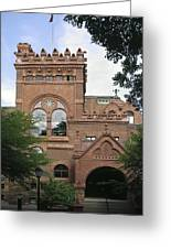 Fisher Fine Arts Library Historical Place Greeting Card