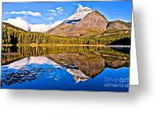 Fishercap Blue Reflections Greeting Card