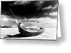 Fisherman Boat Greeting Card