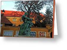Fisherman Fight, Zagreb  Greeting Card