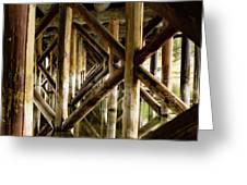Fishermans Bridge Greeting Card