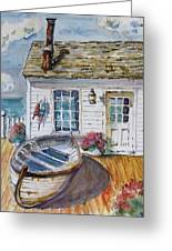 Fisherman's Cottage Greeting Card
