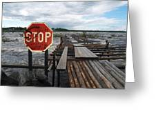Fishermans Dock Greeting Card