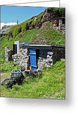 Fisherman's Hut Priest's Cove Cape Cornwall Greeting Card