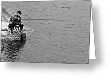 Fisherman's Tail Greeting Card