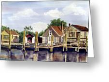 Fisherman's Wharf Greeting Card