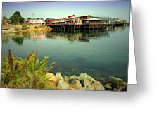 Fishermans Wharf Monterey Ca II Greeting Card
