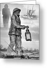 Fishermen - Jersey Shore Greeting Card