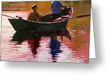 Fishermen Greeting Card