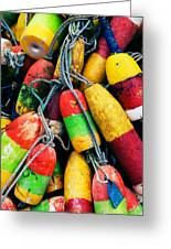 Fishermen's Floats Greeting Card