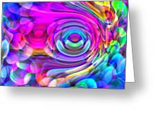 Fisheye3mlv Greeting Card