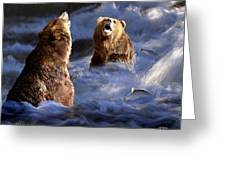 Fishing Alaska Greeting Card
