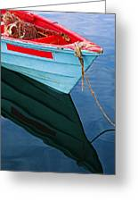 Fishing Boat-1-st Lucia Greeting Card