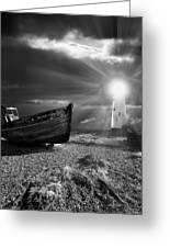 Fishing Boat Graveyard 7 Greeting Card