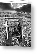 Fishing Boat Graveyard 8 Greeting Card