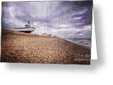 Fishing Boats At Dungeness Greeting Card