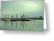 Fishing Boats Columbia River Greeting Card