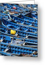 Fishing Boats In Morocco Greeting Card