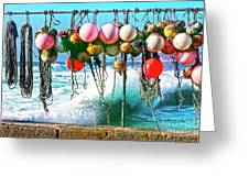 Fishing Buoys Greeting Card