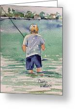 Fishing Greeting Card