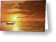 Fishing In Zanzibar Greeting Card