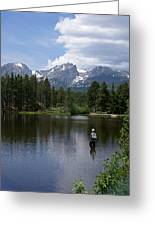 Fishing In Colorado Greeting Card