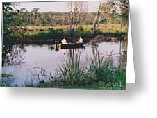Fishing In The Bayou Greeting Card