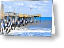 Fishing Pier 4 Greeting Card