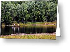 Fishing The St Croix Greeting Card