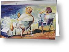 Fishing Together Greeting Card