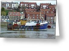 Fishing Trawler - Whitby Greeting Card