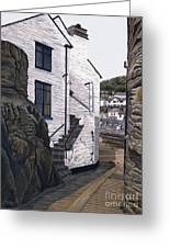 Fishing Village Greeting Card