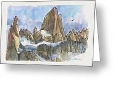Fitz Roy, Patagonia Greeting Card