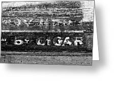 Five Cent Cigar Greeting Card