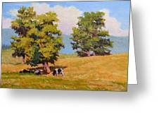 Five Oaks Greeting Card