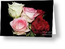 Five Roses Greeting Card