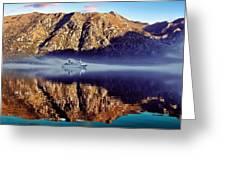 Fjord Greeting Card