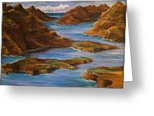 Fjords Of Norwary Greeting Card