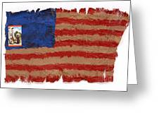 Flag 2 Greeting Card