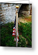 Flag Day Greeting Card