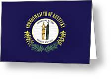 Flag Of Kentucky Wall Greeting Card
