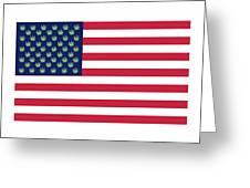 Flag1 Greeting Card