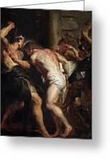 Flagellation Of Christ 2 Peter Paul Rubens Greeting Card