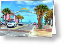 Flagler Avenue Greeting Card