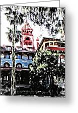 Flagler College View Greeting Card